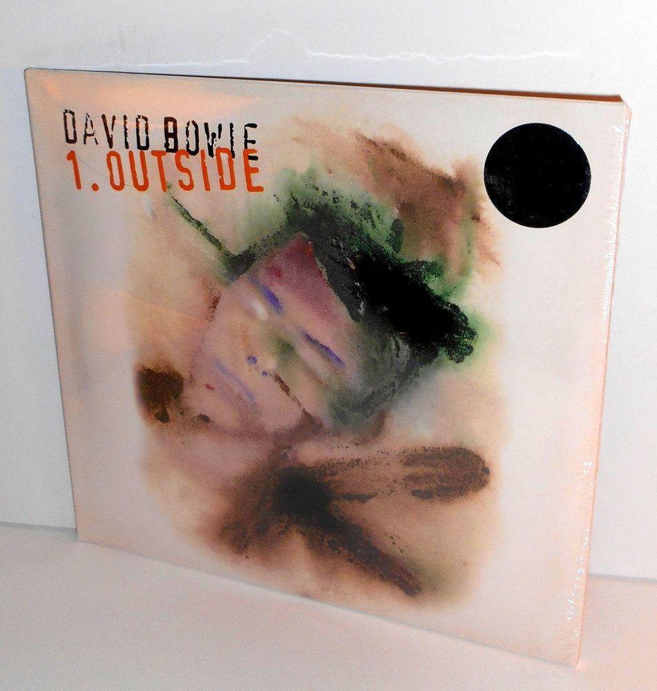 David Bowie Outside Lp Record X2 White 180 Gram Vinyl Sealed Friday Music 2015 Friday Music David Bowie Outside David Bowie