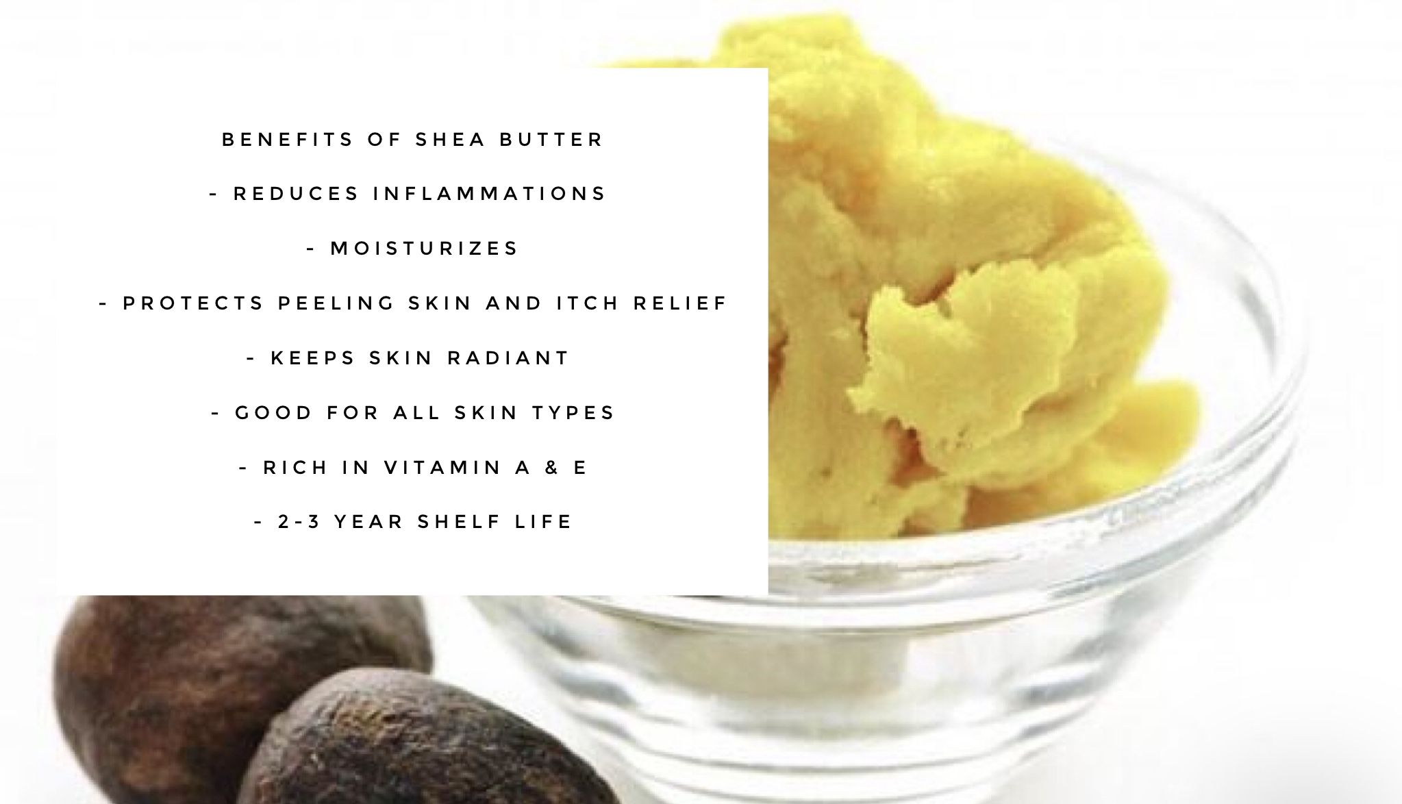 Benefits Of Shea Butter And Skincare Sheabutter