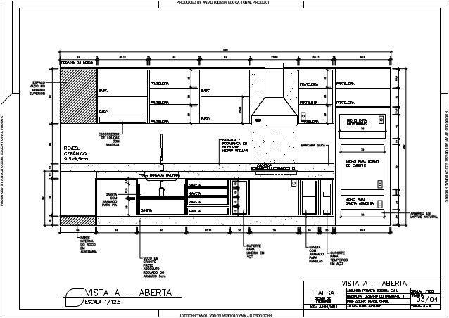 Pontos Eletricos Na Cozinha  Pesquisa Google  Details Adorable Autocad For Kitchen Design Inspiration Design
