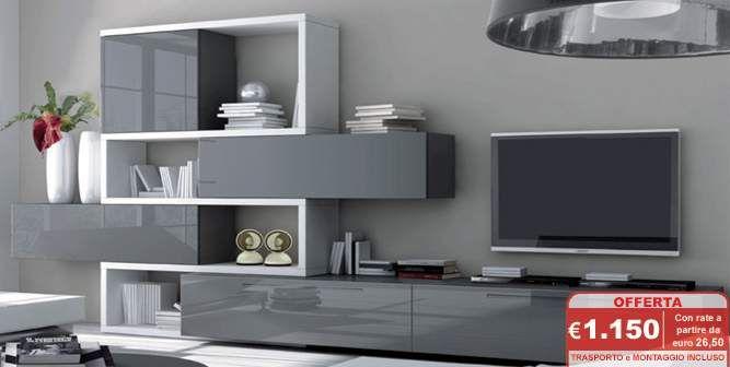 Abbinare pareti e pavimento - Pavimento e pareti sui toni del grigio ...