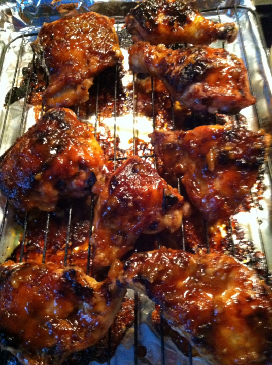 How to bake bbq chicken food pinterest baked chicken dishes easy bake bbq chicken chicken and bbq sauce forumfinder Images