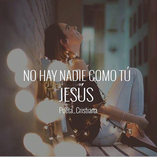 NO HAY NADIE COMO JESUS