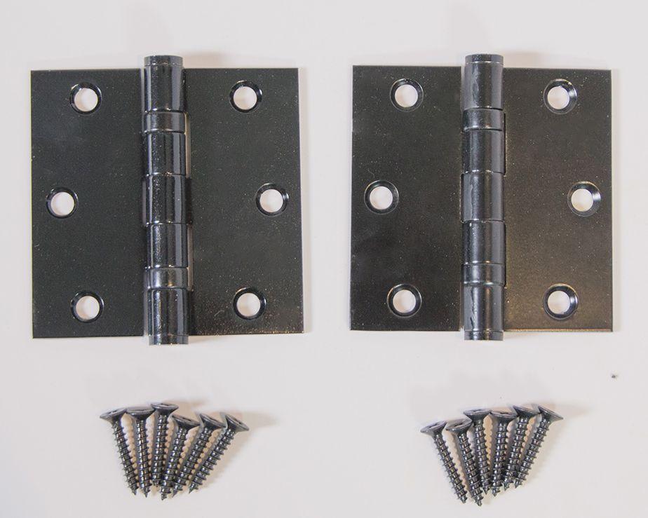 Ball Bearing Interior Door Hinge Box Of 2 In Various Sizes 3 3 1 2 4 Interior Door Hinges Door Hinges Door Handles
