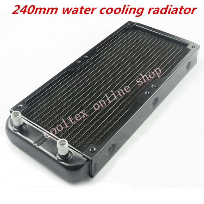 240mm Water Cooling Radiator For Chip Cpu Gpu Vga Ram Laser