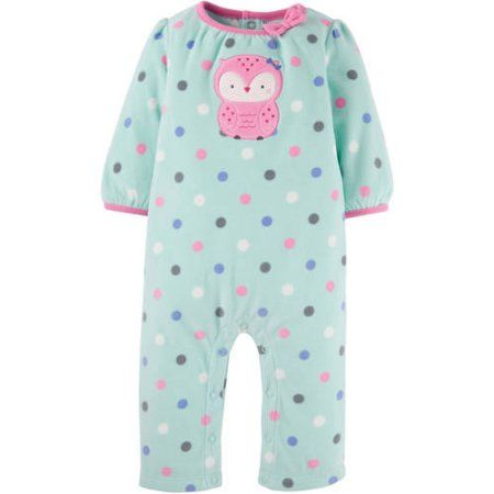 63fb1fced58a Child of Mine by Carter s Newborn Baby Girl Assorted Microfleece ...