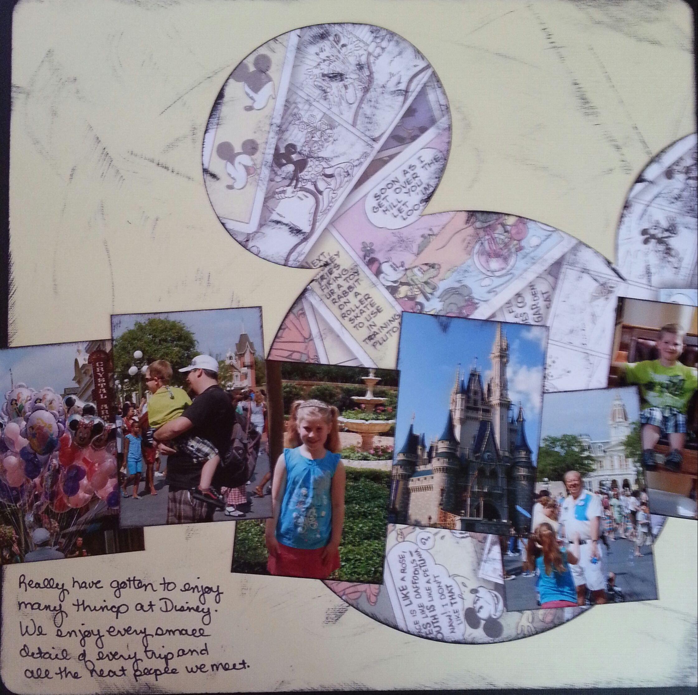 Disney Magic - Mouse ears template is on Mickey Font cricut cartridge - but would need Expression machine to get it this big - Scrapbook.com