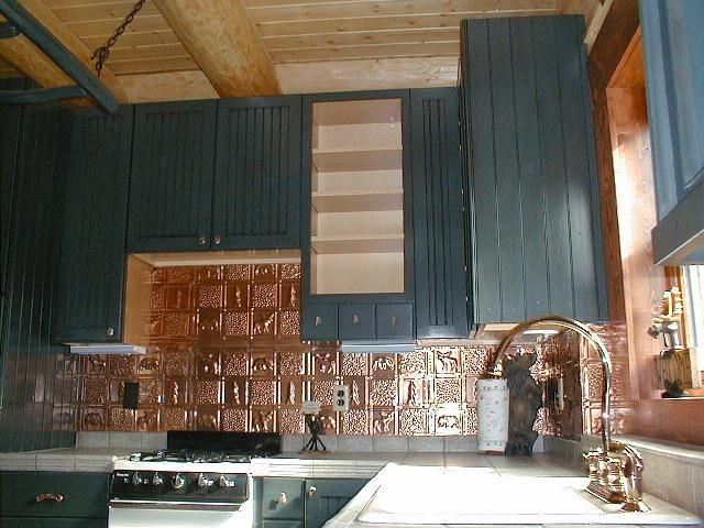 Gwen S Cabin Aluminum Backsplash Tile 0512