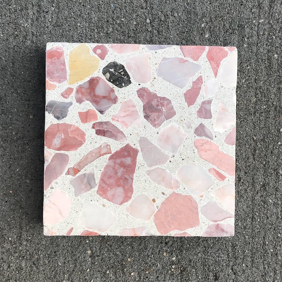 Rose Quartz Inspired Terrazzo For The Win We Custom