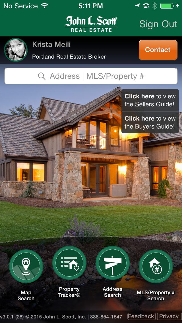 John L. Scott Home Search App Portland real estate, Real