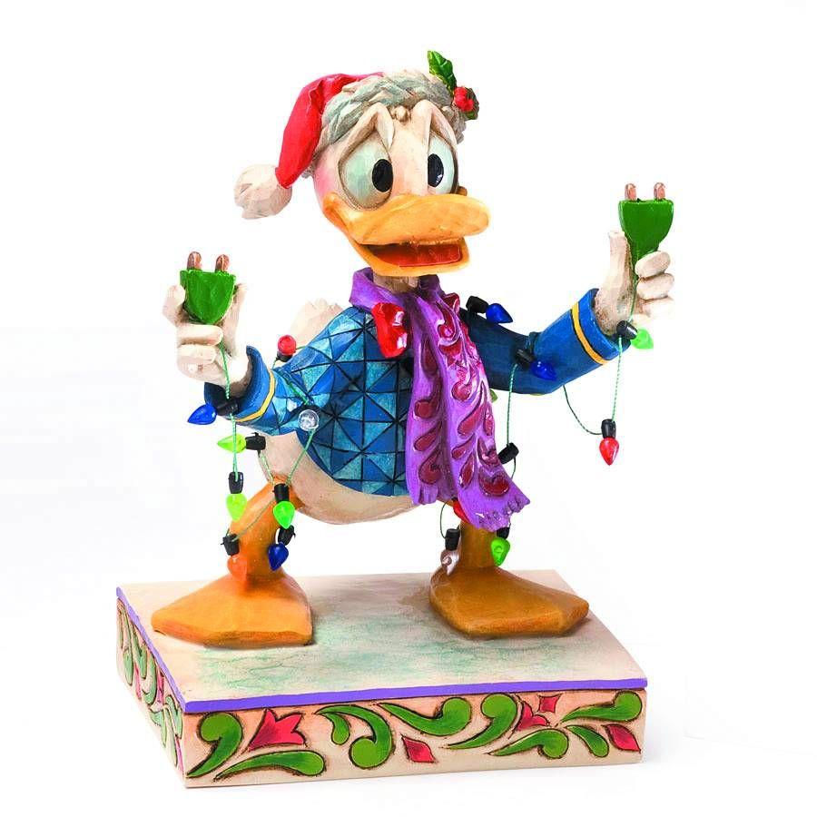 Jim Shore Disney Traditions Donald Duck Christmas Lights