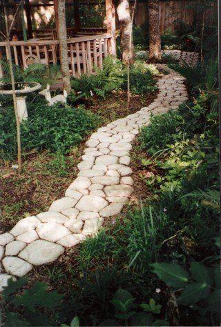 Efficient Diy Garden Concrete Paving Mold For Pavement Walkways For Garden Path Paving Mold Pathmate Shovel De Furniture