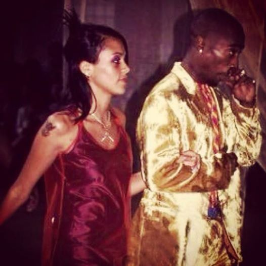 Tupac Et Kidada Jones
