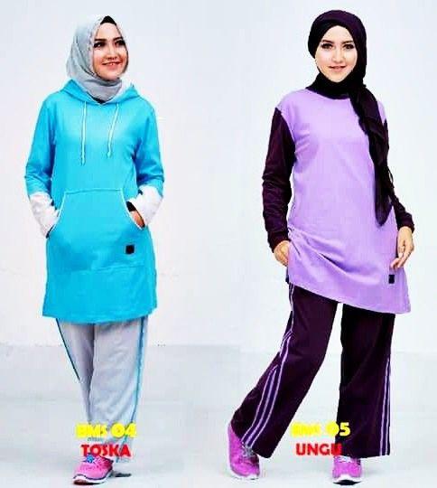 Baju Olahraga Muslimah Rabbani