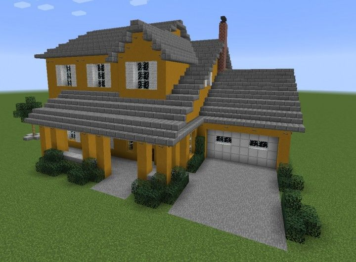Another modern house minecraft project also houses interior rh pinterest