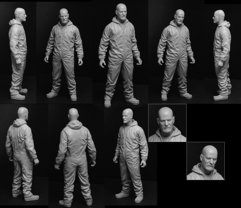 Breaking Bad Walter 6 Inch Figure by *TrevorGrove on deviantART