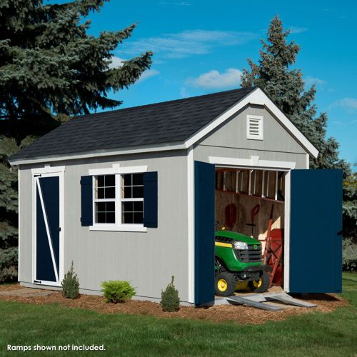 Crestwood 8 x 14 Wood Storage Shed House Upgrades Pinterest