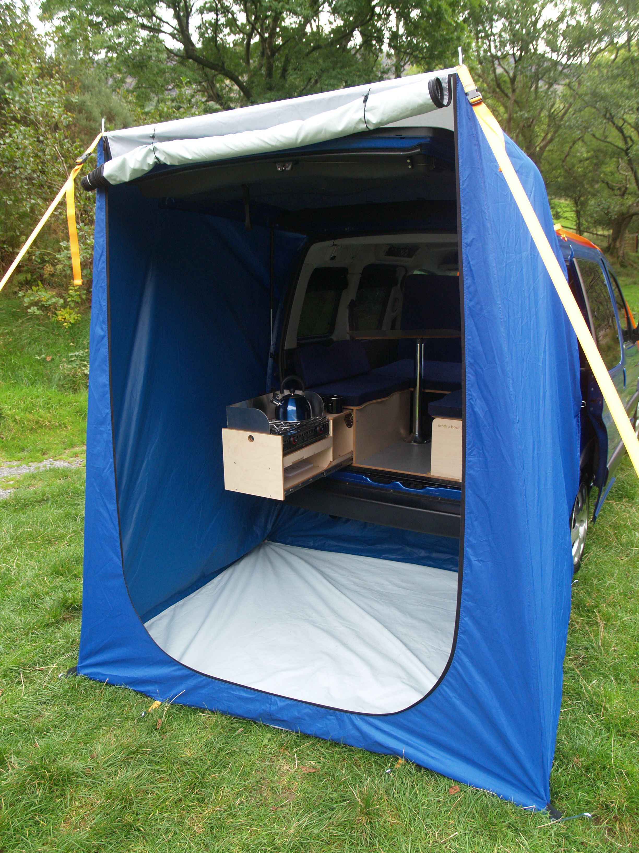 pop up tent for back of van