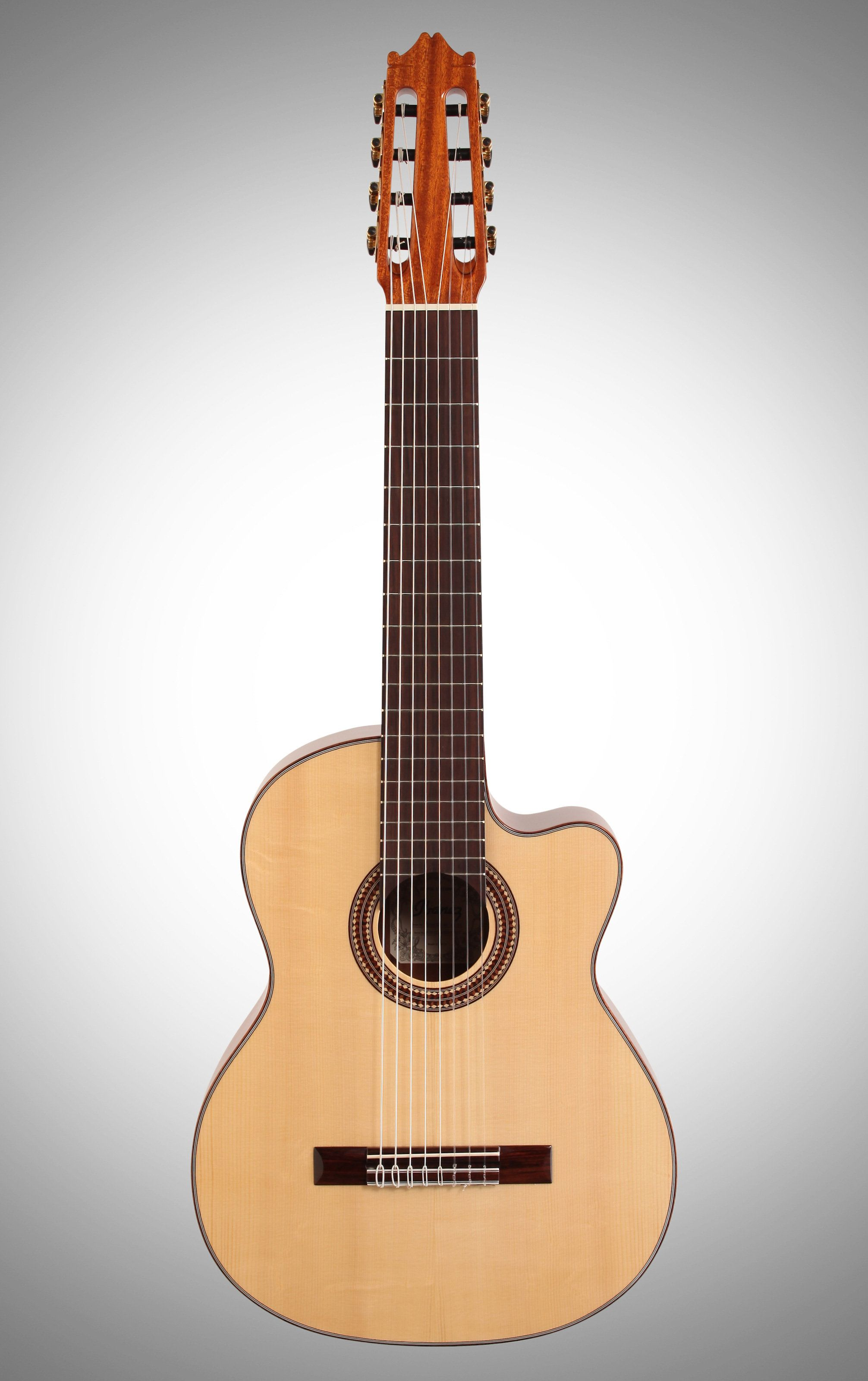 Ibanez G208c Classical Guitar 8 String With Case Zzounds 10