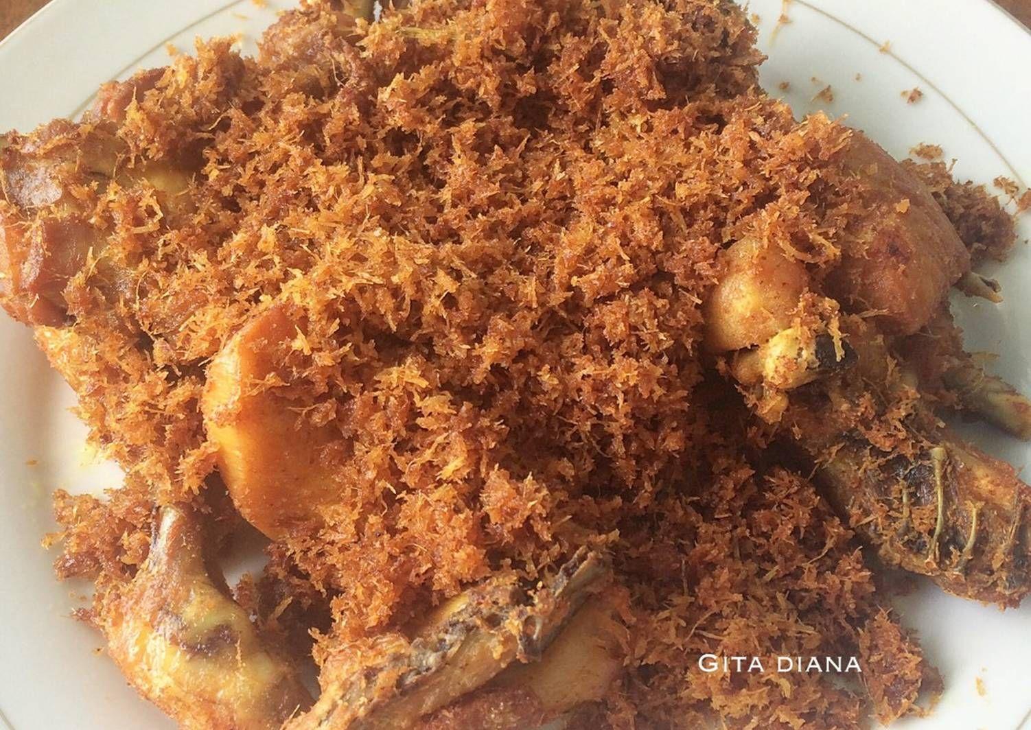 Resep Ayam Goreng Serundeng Oleh Gita Diana Resep Ayam Goreng Resep Ayam Makanan