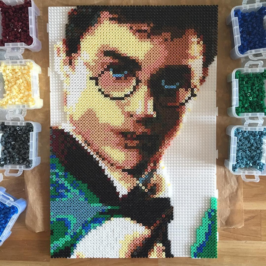 Harry Potter Hama Beads By Cathyk Photo Bugelperlen Bugelperlen Vorlagen Hama Bugelperlen