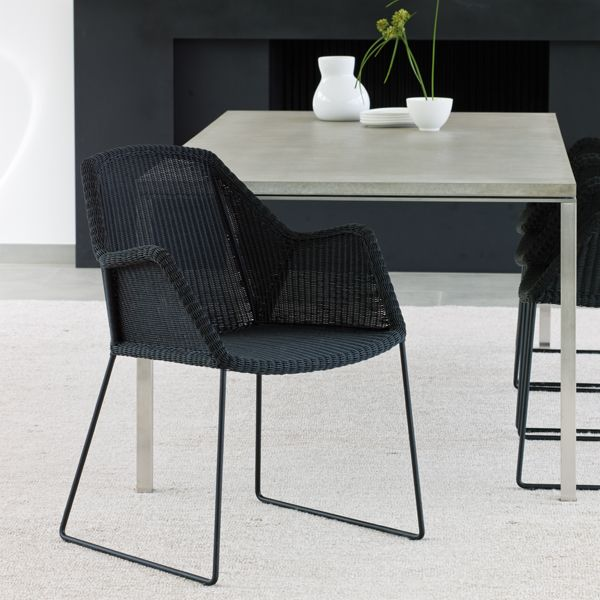 Breeze dining chair, black - Outdoor furniture - Outdoor - Finnish ...