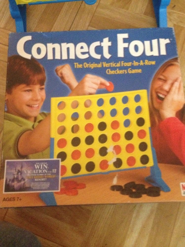 Connect Four Game MiltonBradley Traditional games