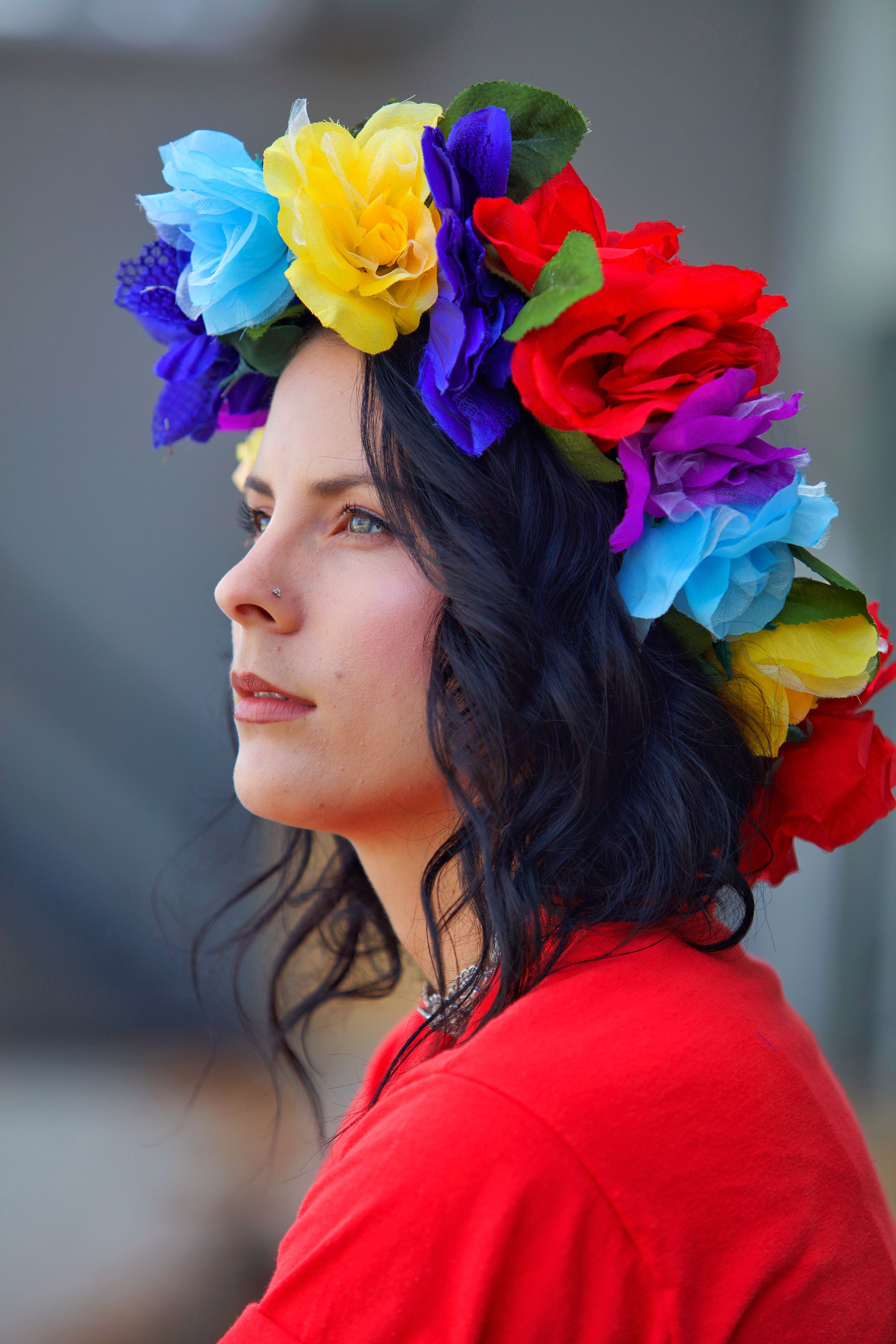 Make A Statement With Floral Crown Fashion Photo Taken By Brian