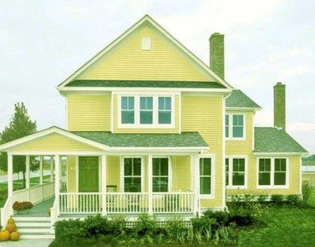 Exterior House Colors Green citrus lime house | citrus | pinterest | green front doors