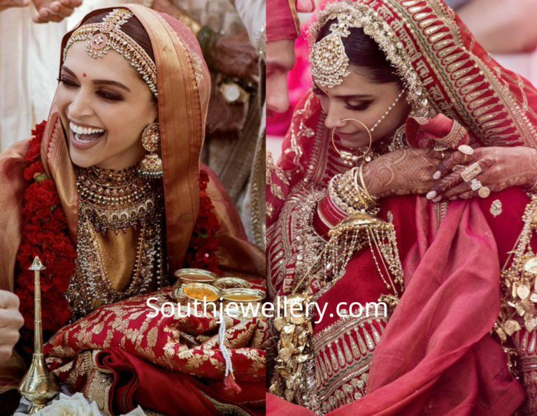 Deepika Padukones Wedding Jewellery Photo Mehndi Designs Bollywood Celebrities Pakistani Mehndi Designs