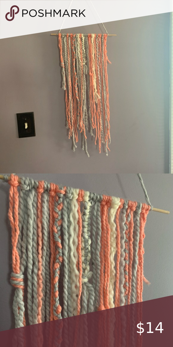 🍍handmade macrame wall decor!!