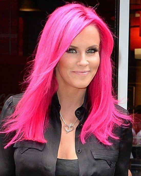 Rosa Muschi Mit Pinkem Haar