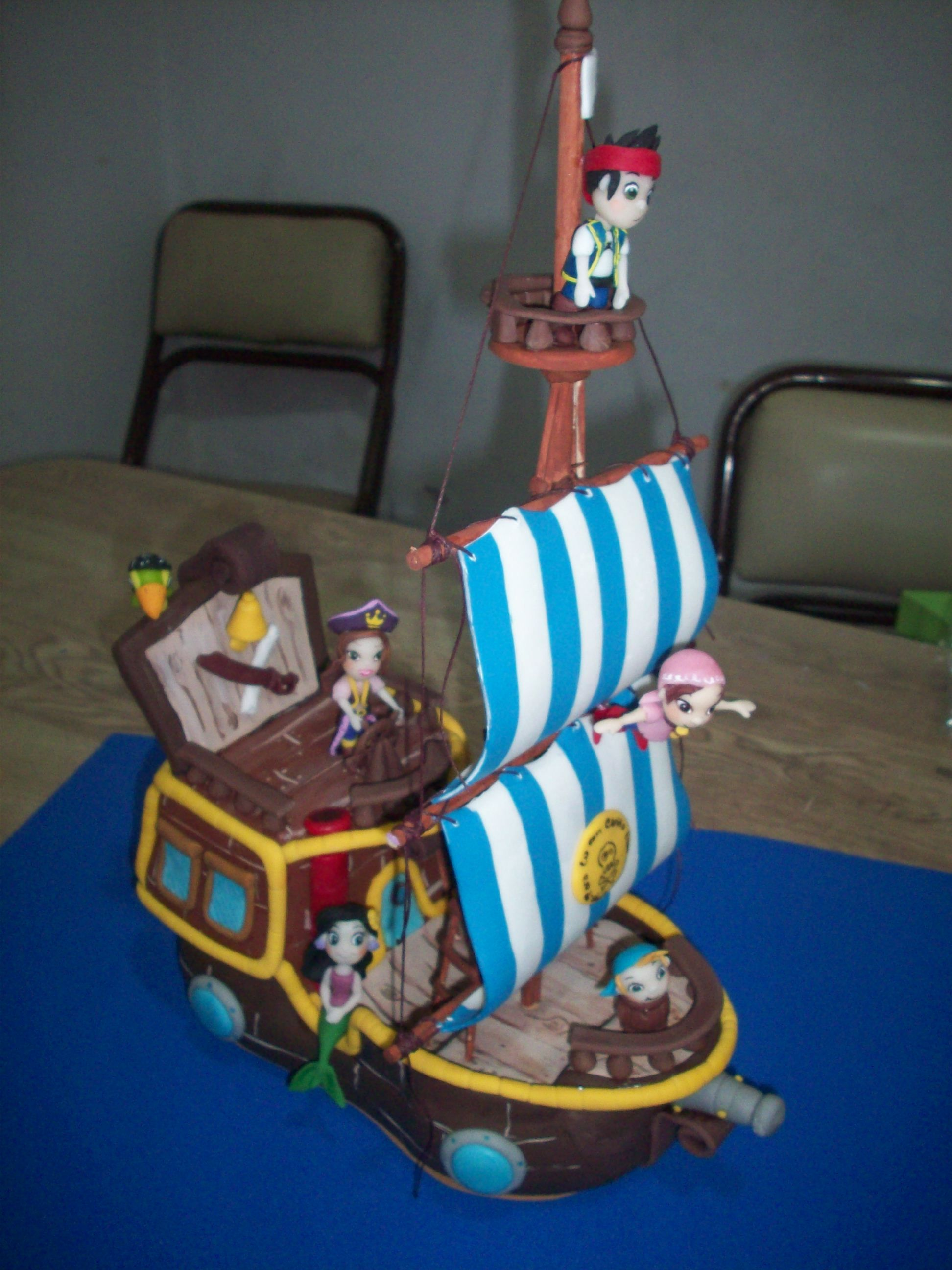 Decoraci n jake y los piratas de nunca jam s pictures to pin on - Jake Y Los Piratas De Nunca Jamas