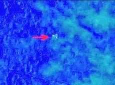 Galdino Saquarema 1ª Página: Satélite capta objetos que podem ser de avião desa...
