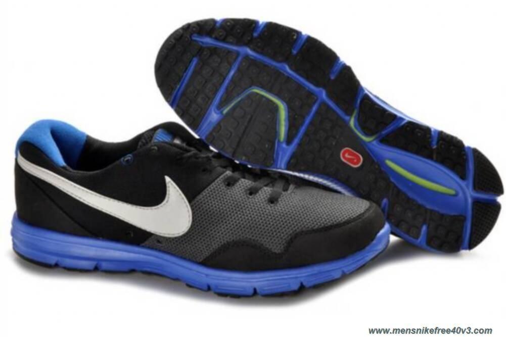 buy popular dc96e a62a7 Nike Lunarfly 396048-001 Mens Black Blue White Shoes Outlet