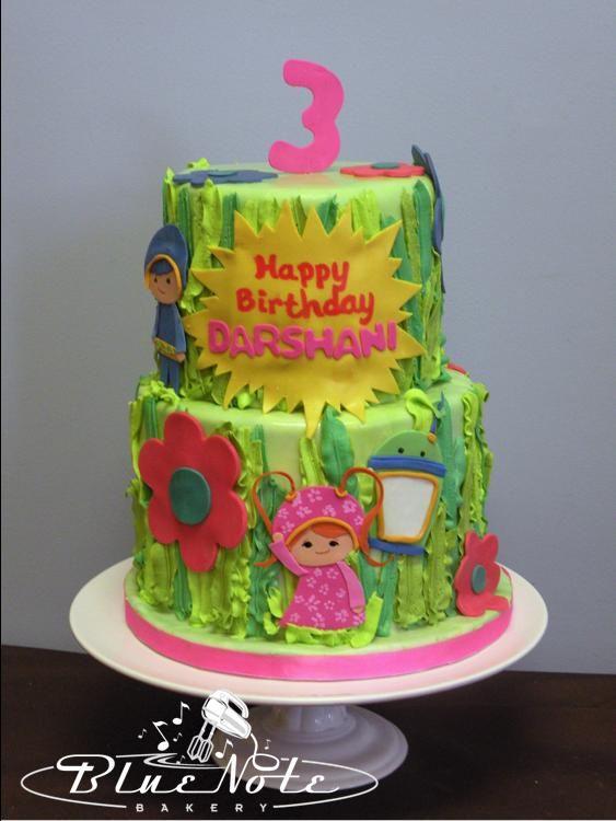 Umizoomi 3rd Birthday Cake