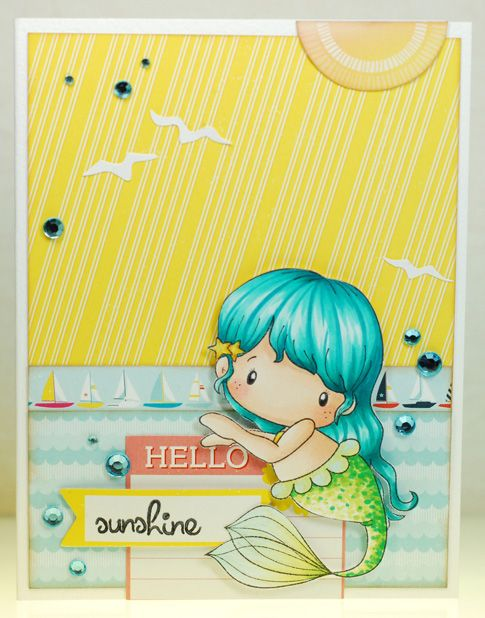 A thousand sheets of paper: Hello sunshine...CC Designs
