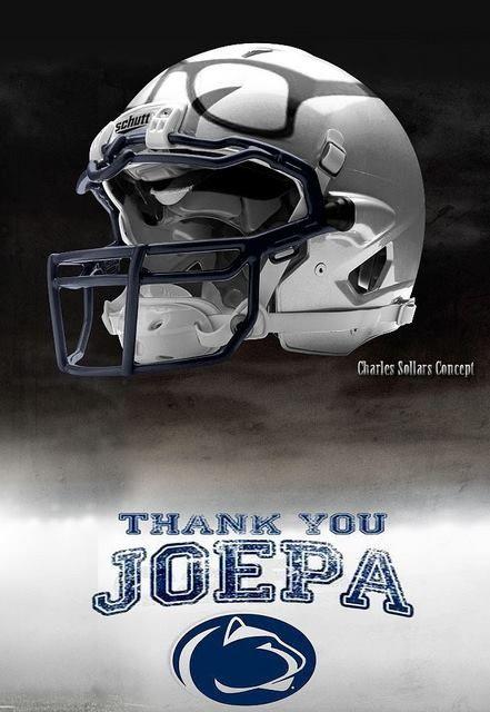 Penn State Paterno Thank U Penn State Penn State Nittany Lions Penn St Football