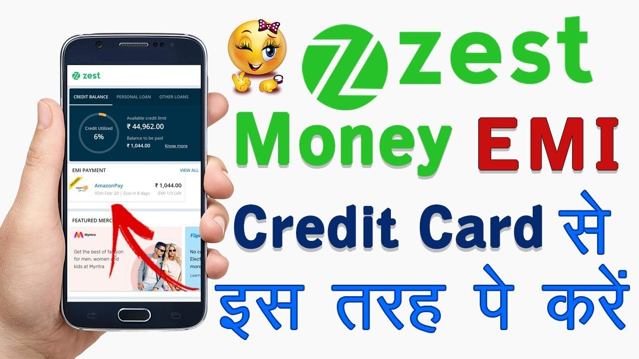 How to Pay Zest Money EMI on Credit Card How to Pay