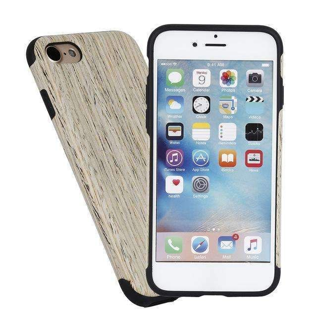 Wooden Case For iPhone 8