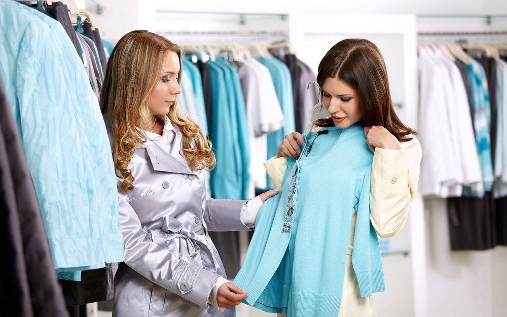 Image result for Mua quần áo thời hiện đại