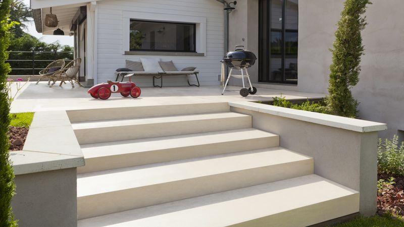 Afficher L Image D Origine Peinture Sol Escalier Exterieur Beton Terrasse Beton