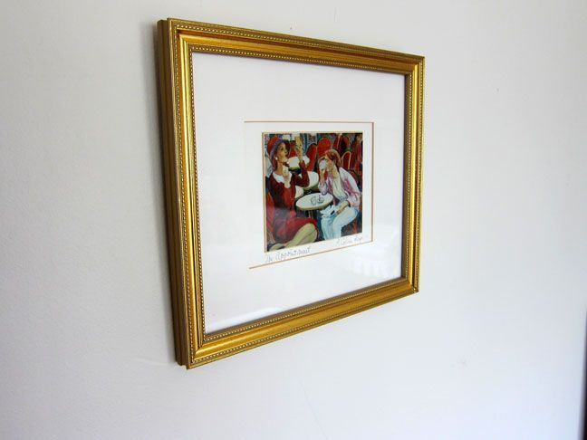PHOTOS) How to Hang Frames Level and Straight - Step By Step | Hang ...