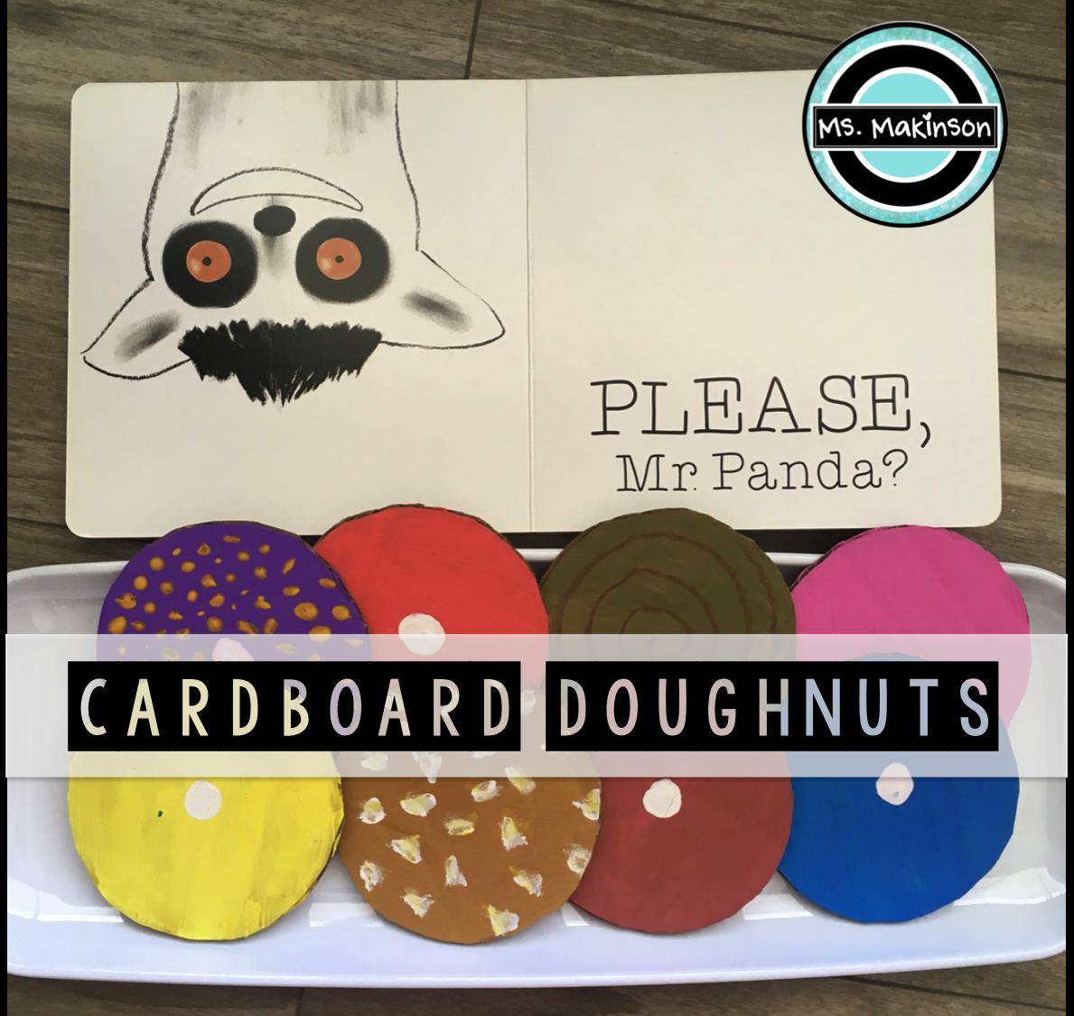 Please Mr Panda Doughnut Craft