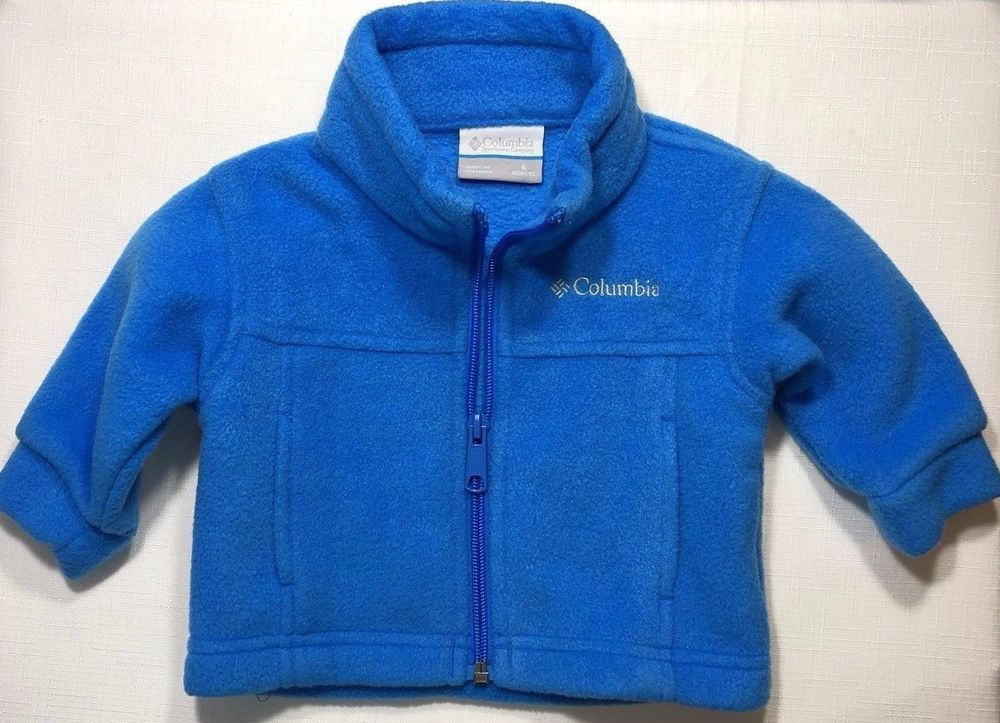 41bf1ed2a2f0 Columbia Baby Boys 6 Months Blue Fleece Jacket  Columbia  Jacket ...