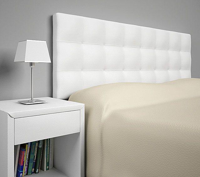 Muebles cabecero piel reciclada ohio cabeceros y camas de piel y - Cabeceros de cama tapizados en piel ...