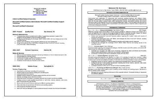 Administrator Resume Sample Amusing Network Administrator Resume Example  Sample Resume And Resume Examples