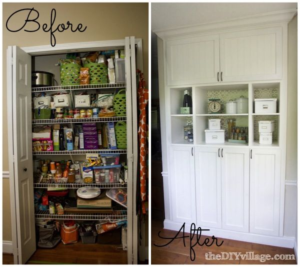 Custom pantry on pinterest large pantry ideas pantry - Kitchen pantry cabinet design plans ...