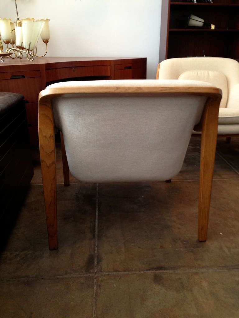 Pair of Knoll Bill Stephens Lounge Chairs | Modern lounge, Lounge ...