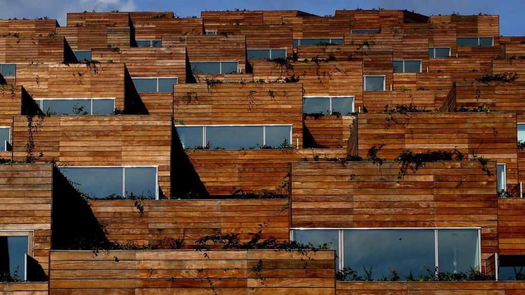 Arkitektur i Danmark, VM-bjerget, Orestad