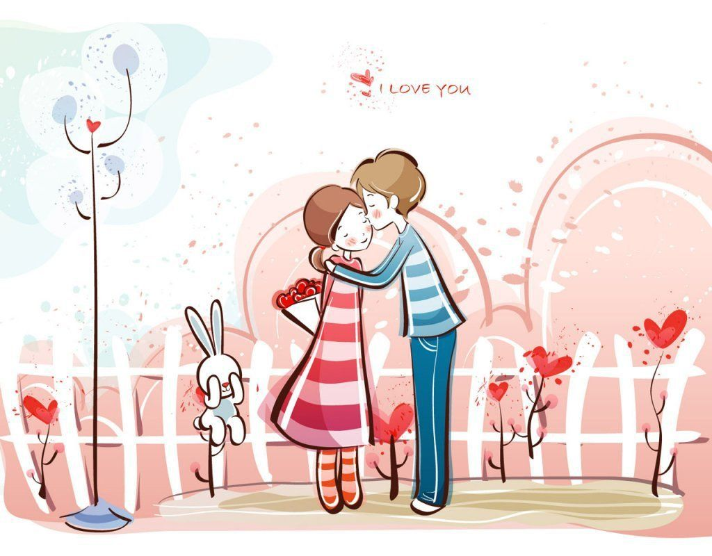 Cute Romantic Couple Valentines Day Wallpapers Pictures For Desktop